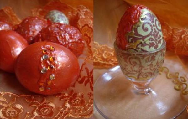 Като бижу! Великденски яйца с акрилни пасти Вива Декор