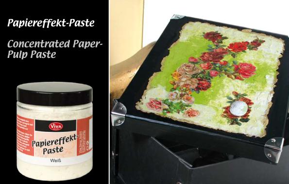 Паста с ефект на хартия PAPER PASTE VIVA DECOR