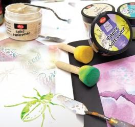 Интересни и занимателни декорации върху хартия
